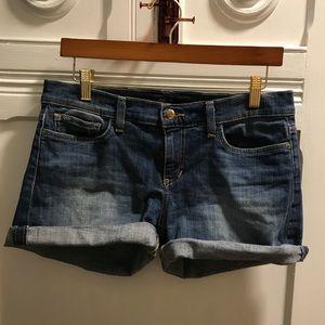 Joe's Jeans Shorts - Joe's Rolled Hem Denim Shorts